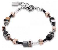 Coeur de Lion GeoCUBE® Armband - Hämatit