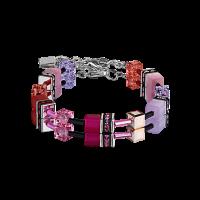 Coeur de Lion GeoCUBE® Armband - rosa